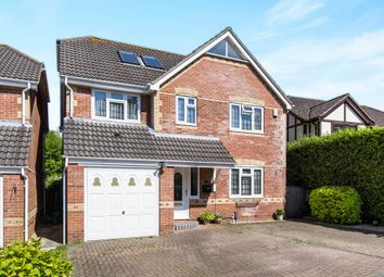 Thumbnail 5 bedroom detached house for sale in Southwood Gardens, Locks Heath, Southampton