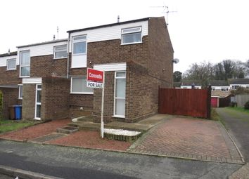 3 bed terraced house for sale in Fritton Close, Ipswich IP2