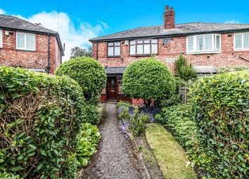Thumbnail 3 bed semi-detached house for sale in Redthorn Avenue, Burnage, Manchester