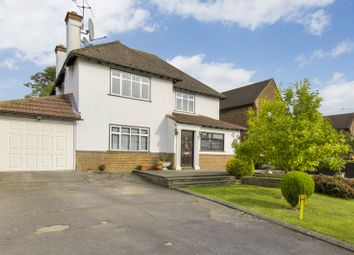 Thumbnail 4 bed detached house for sale in Calder Avenue, Brookmans Park, Hatfield