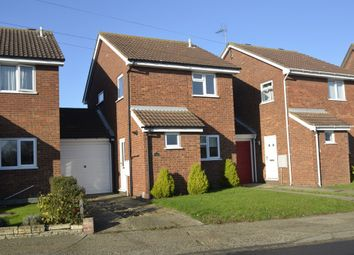 Thumbnail 3 bedroom link-detached house for sale in Grange Road, Felixstowe