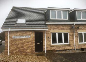 Thumbnail 2 bed property for sale in Burton Street, Peterborough