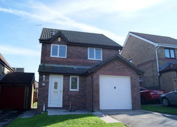 Thumbnail 3 bed detached house for sale in Badgers Brook, Brackla, Bridgend.