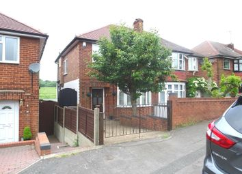 Thumbnail 3 bed semi-detached house for sale in Wentworth Road, Coalville, Leicestershire