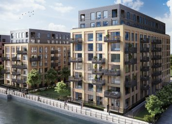 Thumbnail 1 bedroom flat for sale in Explorers Wharf, Limehouse