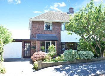 Thumbnail 3 bed semi-detached house for sale in Highfield Crescent, Wigston, Leicester