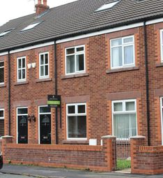 Thumbnail 4 bed terraced house to rent in Winwick Road, Warrington