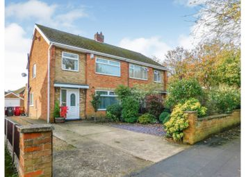 Thumbnail 3 bed semi-detached house for sale in Trinity Road, Scunthorpe