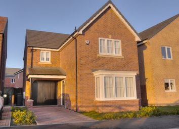 Thumbnail 3 bed detached house for sale in St. Nicholas Drive, Bedlington