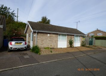 Thumbnail 1 bed detached bungalow to rent in Firfield Close, Beccles
