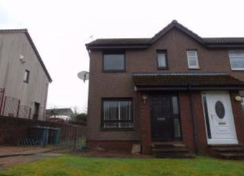 Thumbnail 1 bed semi-detached house for sale in Springholm Drive, Airdrie