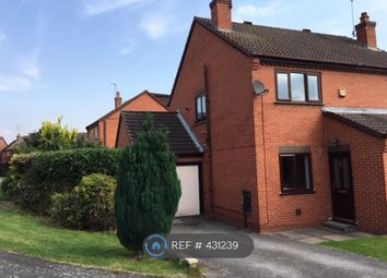 Thumbnail 2 bed semi-detached house to rent in Saxon Grove, Derby