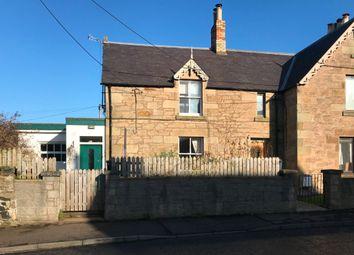Thumbnail 2 bed end terrace house for sale in Bridgend, Duns