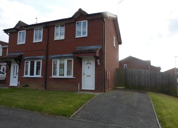 Thumbnail 2 bed semi-detached house to rent in Berneshaw Close, Corby