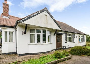 Thumbnail 4 bed detached bungalow for sale in Hall Lane, Hammerwich, Burntwood, Staffordshire