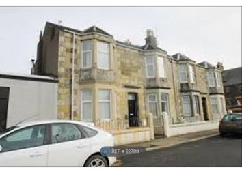 Thumbnail 1 bed flat to rent in Mcisaac Road, Saltcoats