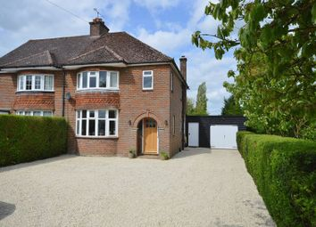 Thumbnail 3 bed semi-detached house for sale in Risborough Road, Stoke Mandeville, Aylesbury