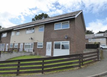 Thumbnail 3 bed end terrace house for sale in Lon Tyddyn, Maesgeirchen, Bangor