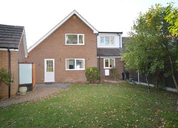 Thumbnail 3 bed semi-detached house for sale in School Lane, Cutnall Green, Droitwich