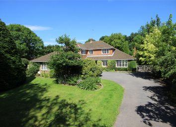 Thumbnail 4 bedroom detached house for sale in Soldridge, Medstead, Alton, Hampshire