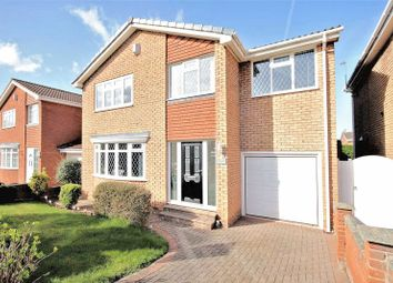 Thumbnail 4 bed detached house for sale in Hillside Close, New Marske, Redcar