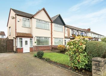 Thumbnail 3 bed semi-detached house for sale in Hoylake Road, Moreton, Wirral