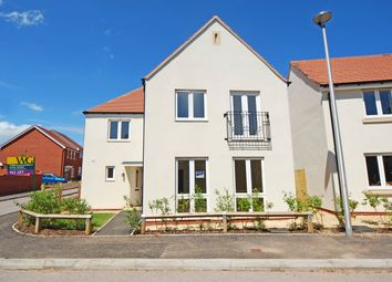 Thumbnail 4 bed detached house to rent in Cranbrook, Exeter, Devon