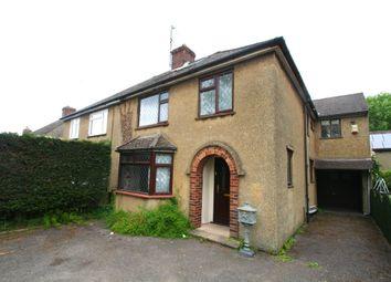 Thumbnail 1 bedroom semi-detached house to rent in Headley Way, Headington, Oxford