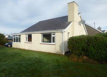 Thumbnail 3 bed bungalow for sale in Ffordd Menai, Bangor, Gwynedd