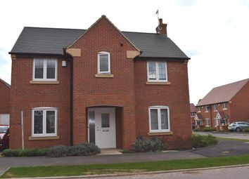 Thumbnail 3 bed detached house for sale in Poppy Road, Lutterworth
