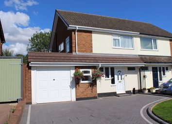 Thumbnail 3 bed semi-detached house to rent in Claremont Road, Tamworth