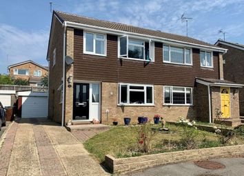 Thumbnail 3 bed semi-detached house for sale in Ash Rise, Kingsthorpe, Northampton