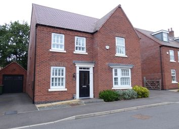 Thumbnail 4 bed detached house for sale in Flora Grove, Ashby-De-La-Zouch