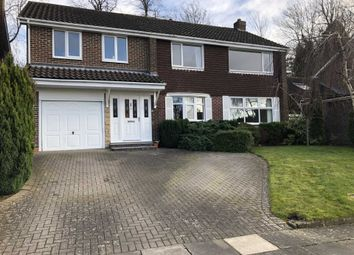 Thumbnail 4 bedroom detached house for sale in Hall View Grove, Darlington