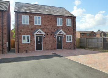 Thumbnail 2 bedroom semi-detached house for sale in Perry Road, Leverington, Wisbech