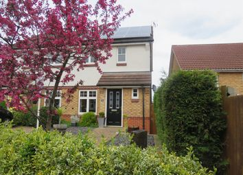 Thumbnail 2 bed semi-detached house for sale in Packhorse Drive, Enderby, Leicester