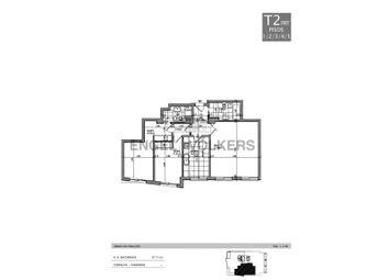Thumbnail 2 bed apartment for sale in Arcadas Do Parque, L. Poente, Av. Aida 87A, 2765-187, Portugal