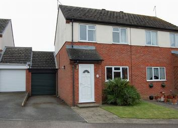 Thumbnail 3 bed semi-detached house for sale in Spencer Road, Long Buckby, Northampton
