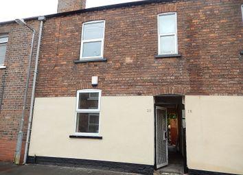Thumbnail 3 bed terraced house to rent in Britannia Terrace, Gainsborough