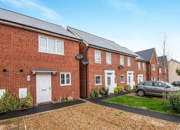 Thumbnail 2 bed terraced house for sale in Whitaker Close, Exeter, Exeter