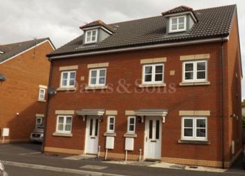 Thumbnail 3 bed semi-detached house to rent in Amelia Grove, Off Corporation Road, Newport.