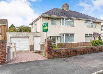 Thumbnail 3 bed semi-detached house for sale in Hawthorn Avenue, Cimla, Neath