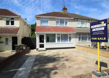 Thumbnail 3 bed semi-detached house for sale in Raeburn Road, Sidcup, Kent