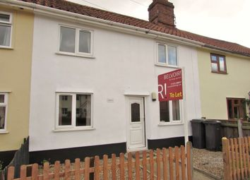 Thumbnail 2 bed terraced house to rent in The Street, Yaxley, Eye