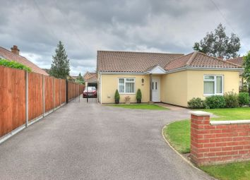 Thumbnail 4 bed detached bungalow for sale in Besthorpe Road, Attleborough