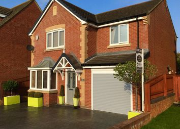 Thumbnail 4 bed detached house for sale in Kendal Rise, Bedlington