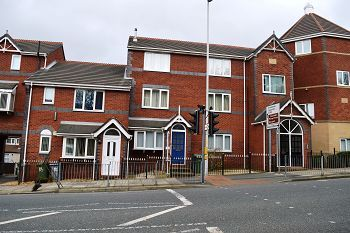 Thumbnail 2 bed flat to rent in 58 Rowson Street, New Brighton, Wirral