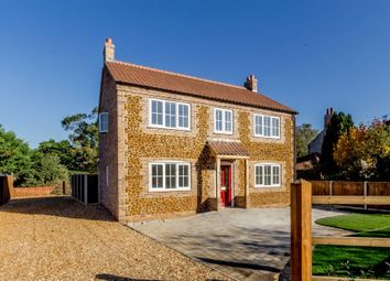 Thumbnail 4 bed detached house for sale in Back Road, Pentney, King's Lynn