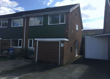 Thumbnail 3 bed semi-detached house for sale in Oaksmoor Close, Wheaton Aston, Stafford