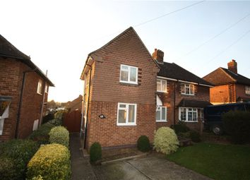 Thumbnail 3 bed semi-detached house to rent in Foxburrows Avenue, Guildford, Surrey